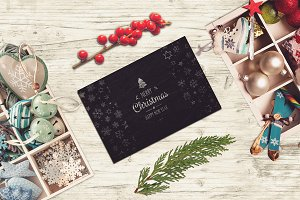 Christmas Card Mock-up ##12