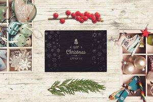 Christmas Card Mock-up #13