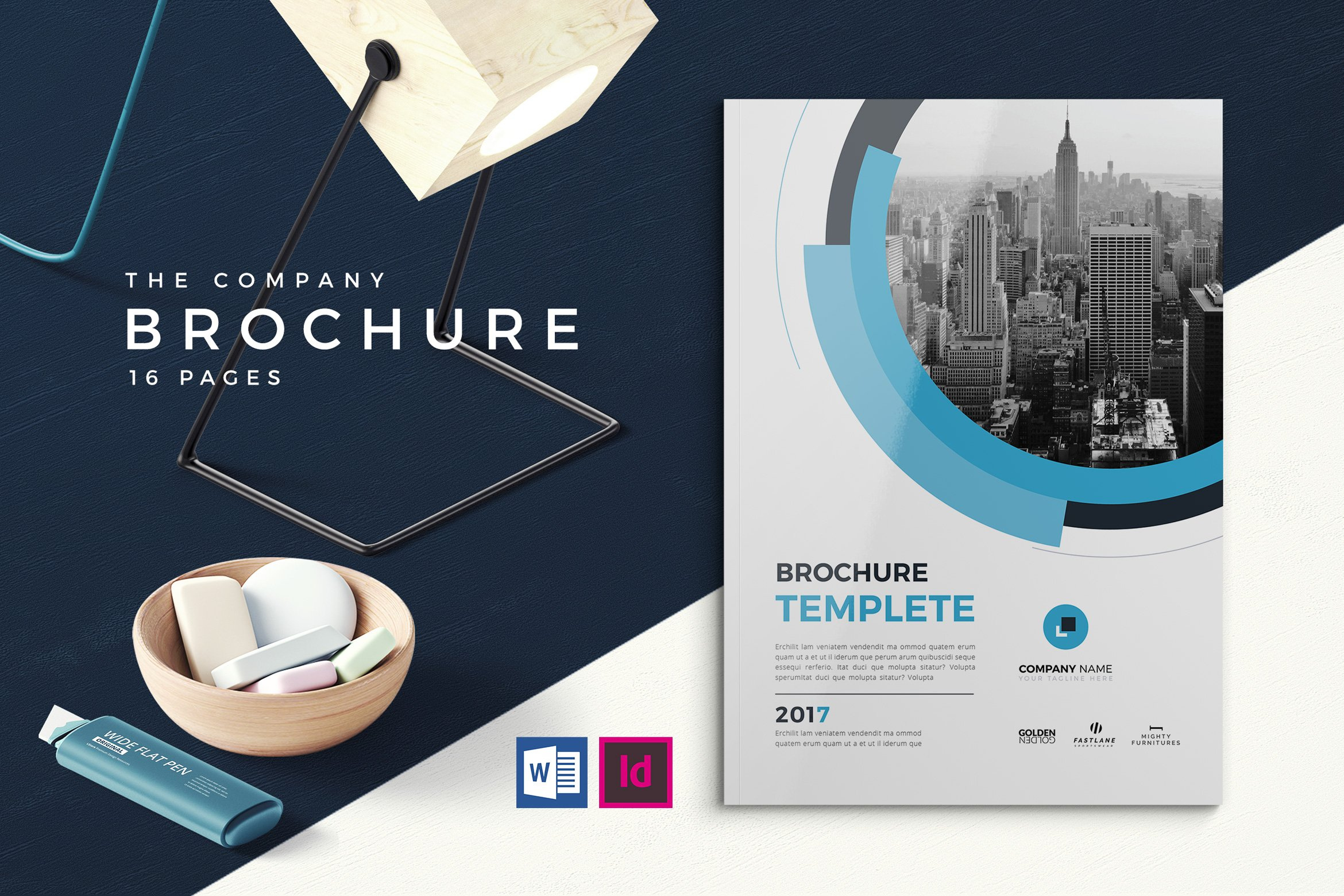 co business brochure brochure templates creative market