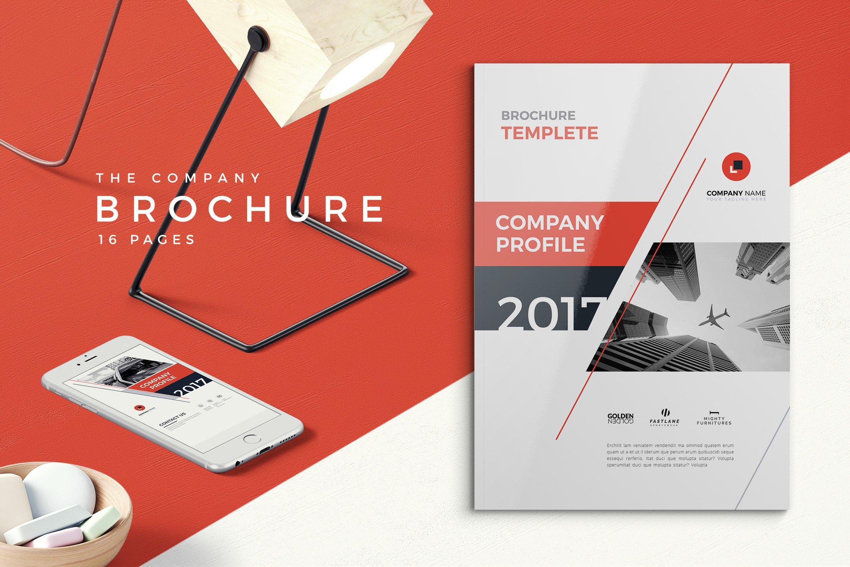 Company Profile 2018 Brochure Templates Creative Market