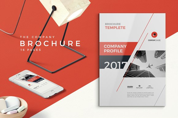 Company profile 2018 brochure templates creative market company profile 2018 by brochuresfactory in templates brochures cheaphphosting Choice Image