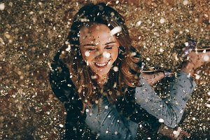 New Years Eve covered in confetti