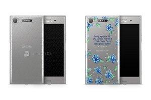 Sony Xperia XZ1 UV TPU Clear Case