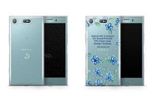 Sony Xperia XZ1 Compact UV TPU Case