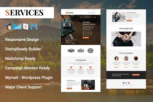 Services - Responsive Email Template