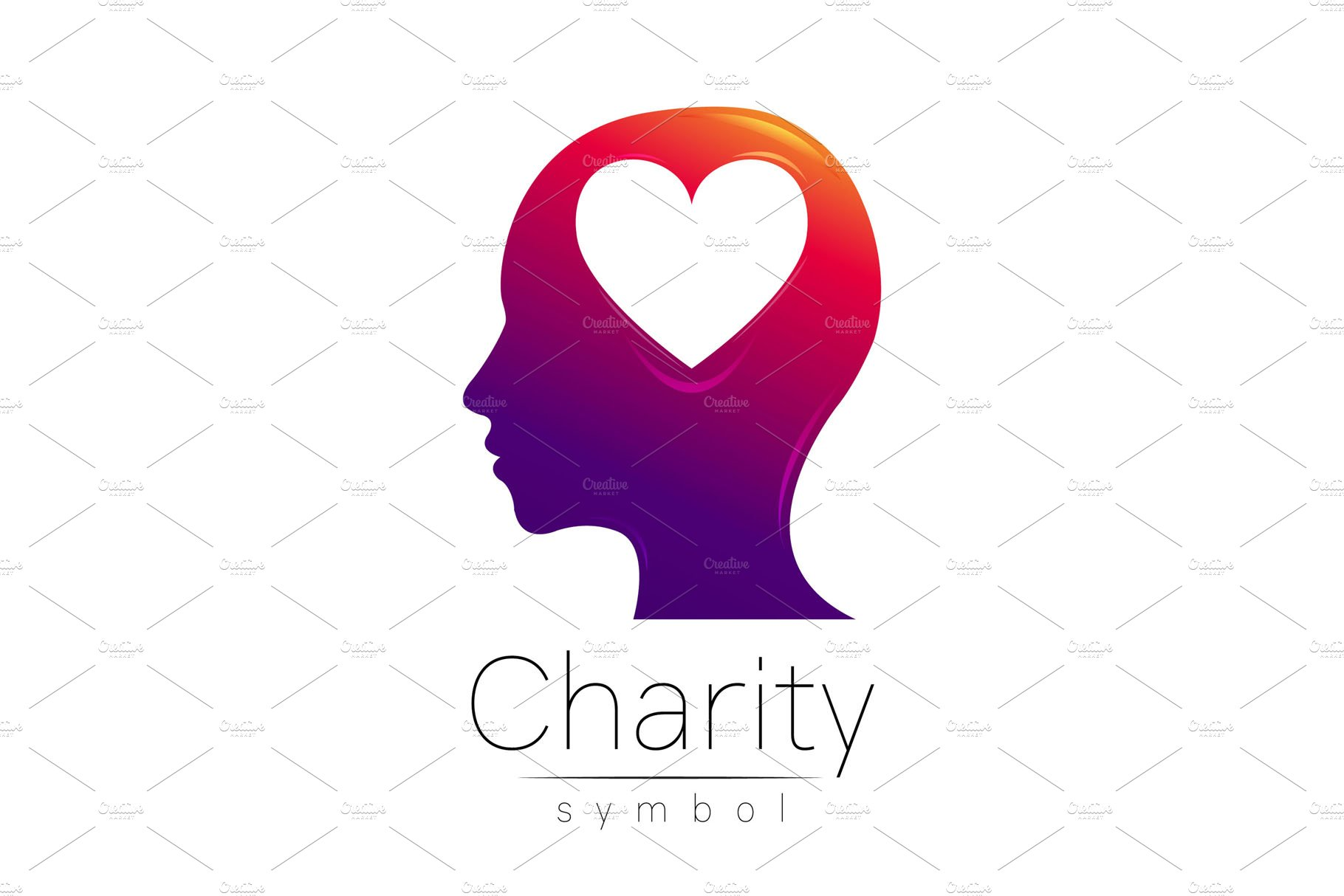 Symbol Of Charity Logo Logo Templates Creative Market