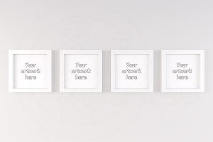 Four best mockup frame wall handing
