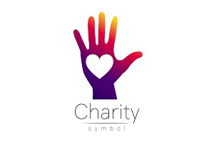 Symbol of Charity. Logo