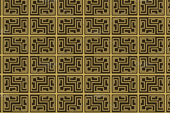 Seamless pattern, geometric in Patterns