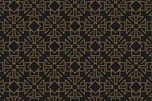 dark geometric pattern