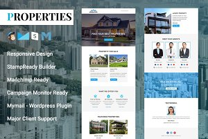 Properties - Responsive Email