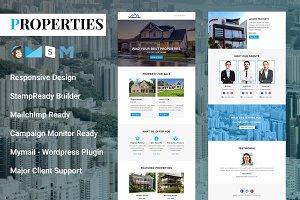 Properties - Responsive Email