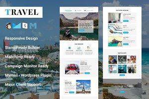 Travel - Responsive Email Template