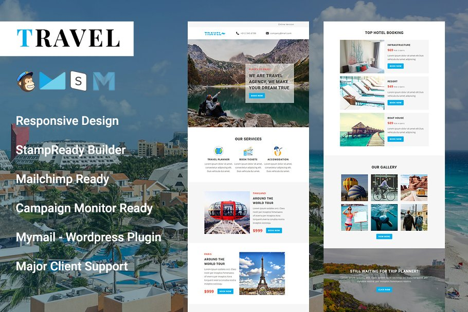Travel Responsive Email Template