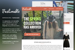Fashion & Clothing Email Newsletter