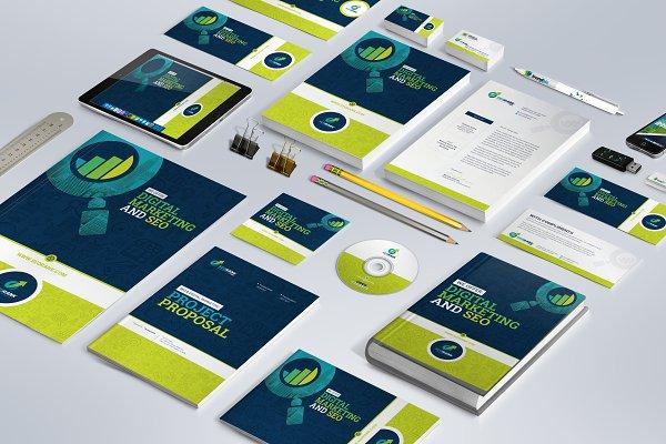 Branding Identity for SEO & Digital