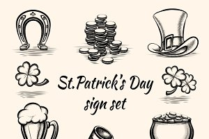 St Patricks Day Signs