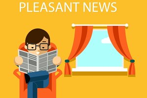 Pleasant news