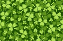 Shamrock seamless backgrounds