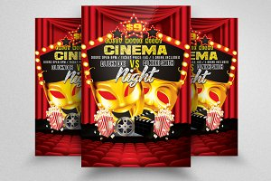 Comedy Show Theater Flyer Templates