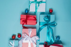 Christmas concept - presents