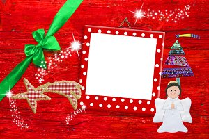 Picture frame Christmas greeting