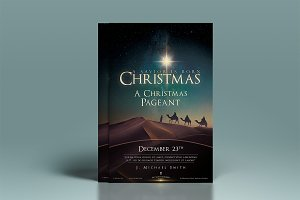 Christmas Church Poster & Flyer