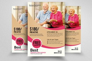 Old Home Senior Care Flyers