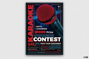 Karaoke Flyer Template V4