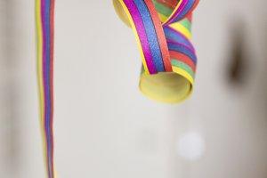 paper streamer balloon