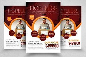 Charity / Giving Hope Flyer