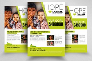 Donation And Charity Flyer