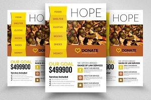 Fund Raising Flyer Template