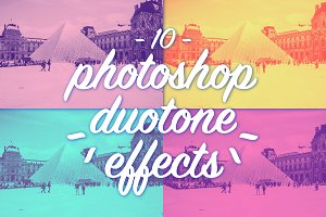 Photoshop duotone effects
