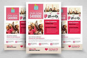 Charity & Donation Flyer Template