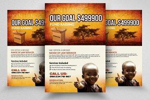 Charity & Fund Raising Flyer