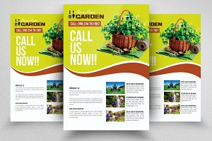 Green Service Flyers