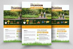 Grow Your Garden Service Flyer