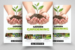 Grow Your Plants Service Flyer