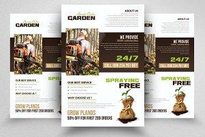 Garden Care Service Flyers