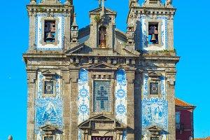 Church of Santo Ildefonso Porto, Por