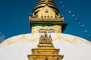 Buddhist stupa Svayambunath