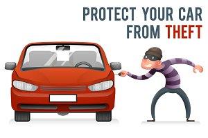 Car Steal Burglar