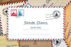 Santa Claus Christmas Mailing