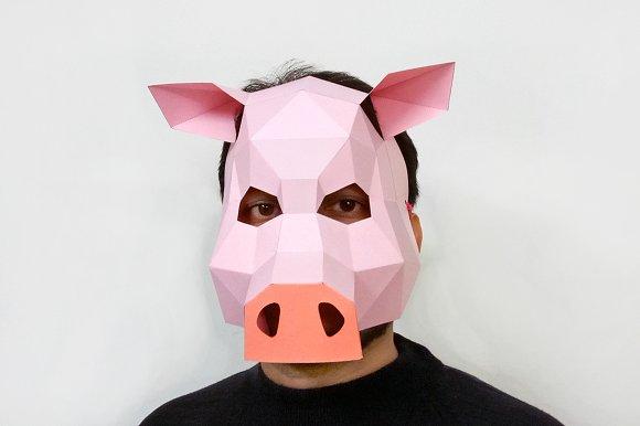 DIY Pig Mask
