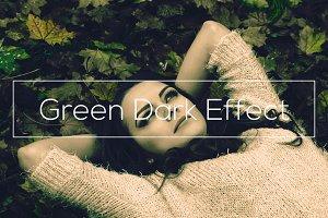 Green Dark Effect