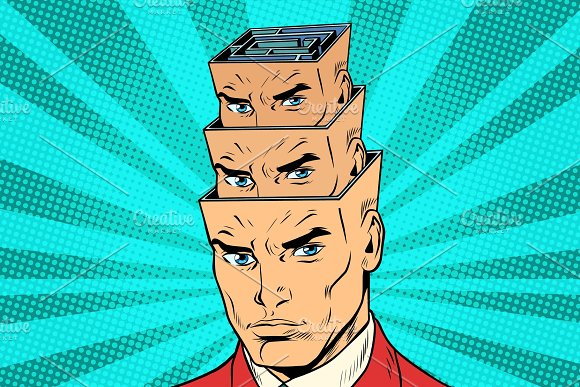Head A Maze Of Personality Inside The Head