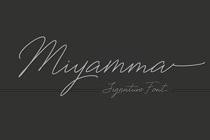 Miyamma Script