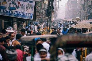 Crowded Bazaar