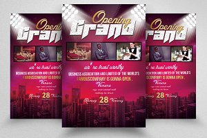 New Grand Opening Party Flyer